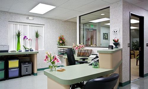 Front Desk for IV sedation, Oral Sedation, Nitrous oxide Sedation